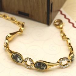 دستبند زنانه کریستالی مدل B149