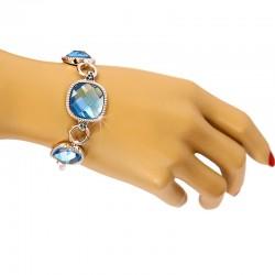 دستبند زنانه کریستالی برند Clio مدل B152