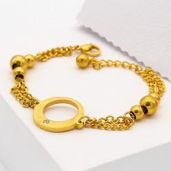 دستبند زنجیری زنانه مدل B141