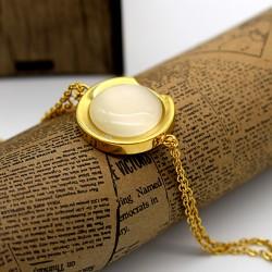 دستبند زنانه زنجیری طرح سواچ (Swatch) جنس استیل مدل B160
