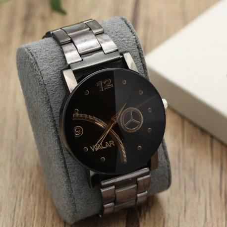ساعت مچی اسپرت با بند و صفحه ی مشکی مدل F246