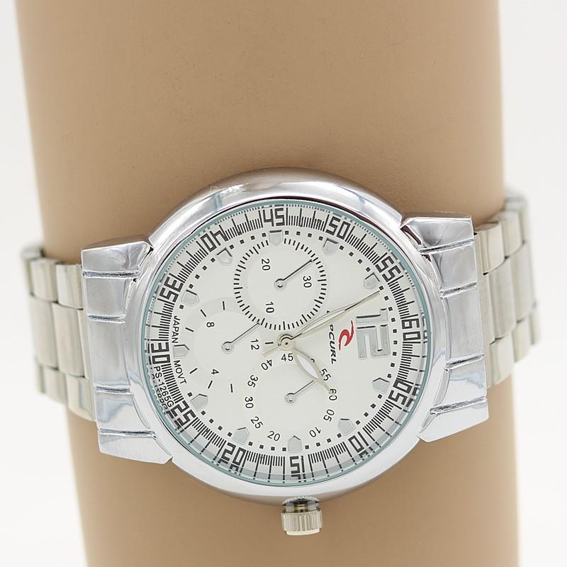 ساعت مچی مردانه شیک استیل نقره ای رنگ مدل F279