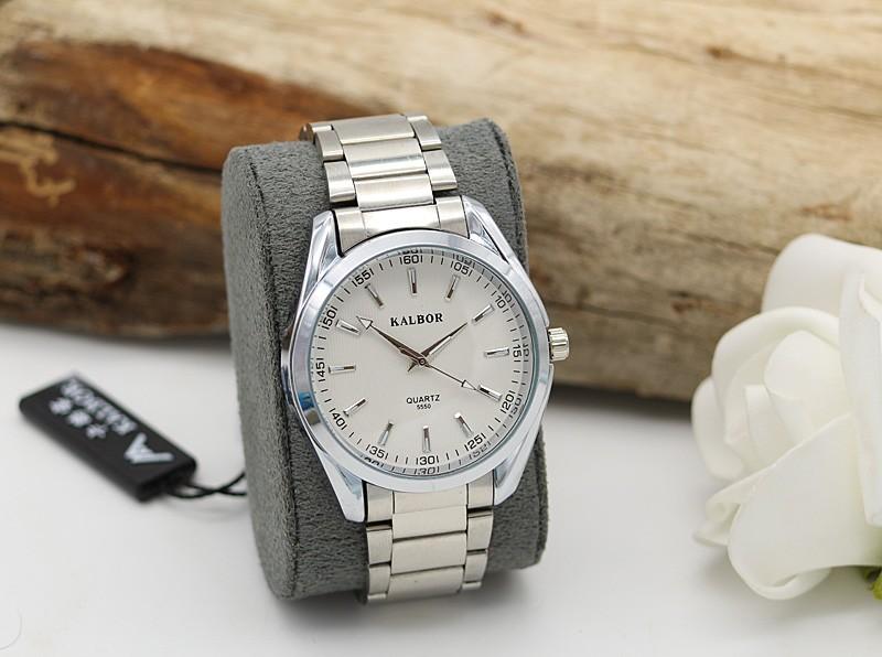 ساعت مچی مردانه شیک استیل نقره ای رنگ مدل F282