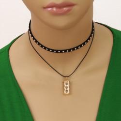 گردنبند چوکر زنانه مدل N546