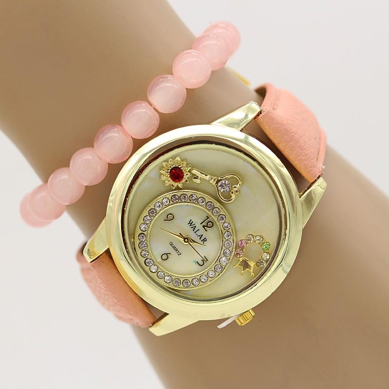 ساعت مچی زنانه با دستبند کشی مدل F327