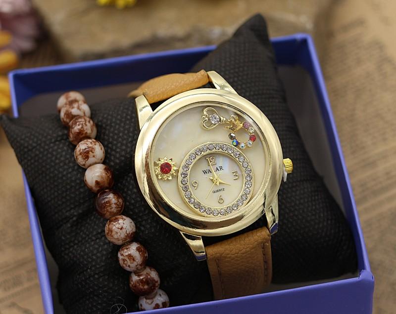 ساعت مچی زنانه با دستبند کشی مدل F339