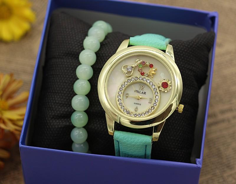ساعت مچی زنانه با دستبند کشی مدل F341