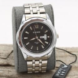 ساعت مچی مردانه استیل تقویم دار مدل F354