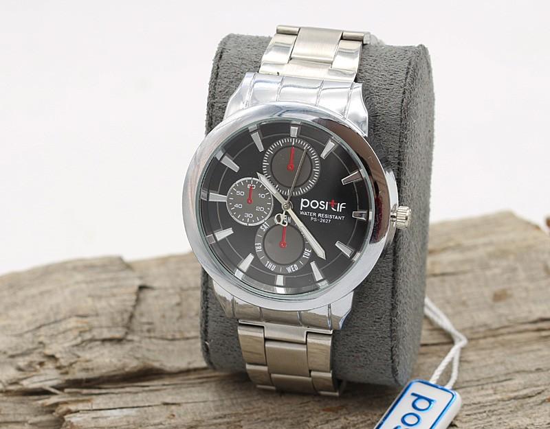 ساعت مچی مردانه استیل نقره ای مدل F355