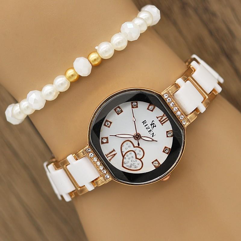 ساعت مچی سرامیکی مدل F607