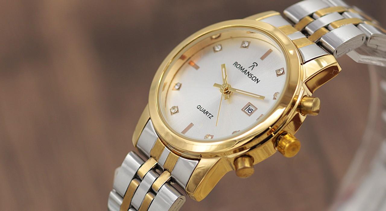 ساعت مچی عقربه ای زنانه رومانسون مدل F1692